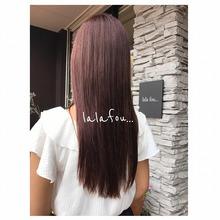lala fou... ララ風hair style